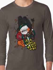 Long Way - Angus Young Tribute Long Sleeve T-Shirt