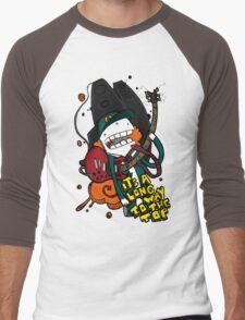 Long Way - Angus Young Tribute Men's Baseball ¾ T-Shirt