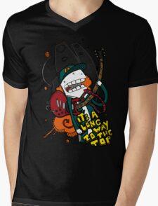 Long Way - Angus Young Tribute Mens V-Neck T-Shirt