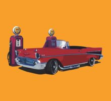 57 Chevy Hot Rod by Giles