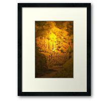 A Welcoming Light Framed Print