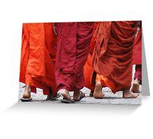 buddhism Greeting Card