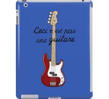 Ceci n´est pas une guitare ver.2 iPad Case/Skin