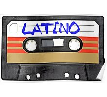 Latino - Latin Music Cassette Tape Poster