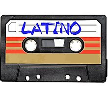 Latino - Latin Music Cassette Tape Photographic Print