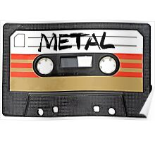 Heavy metal Music band logo - Cassette Tape Poster