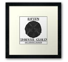 Skyrim - Riften Thieves Guild  Framed Print