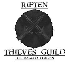 Skyrim - Riften Thieves Guild  Photographic Print
