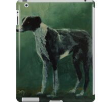Opal the pet greyhound iPad Case/Skin