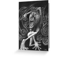 Lady in Duress Greeting Card