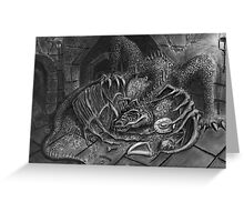 The Dragon Smaug Greeting Card