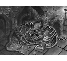 The Dragon Smaug Photographic Print