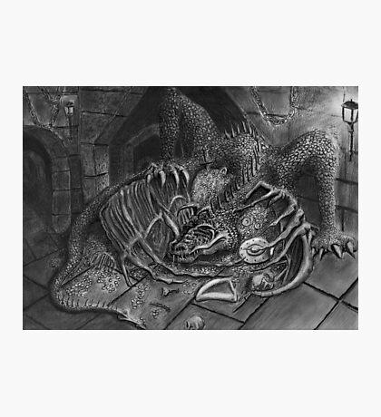 The Dragon Smaug Photographic Print