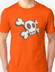 Funky Cartoon Skull & Crossbones T-Shirt