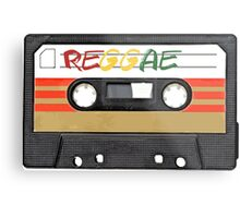 Reggae Music - Cassette Tape - Awesome phone cases Metal Print