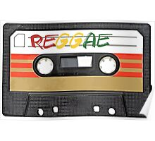 Reggae Music - Cassette Tape - Awesome phone cases Poster