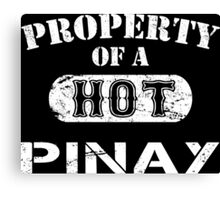Property Of A Hot Pinay - TShirts & Hoodies Canvas Print