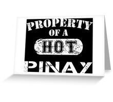 Property Of A Hot Pinay - TShirts & Hoodies Greeting Card