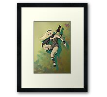 Queen of Gravity Framed Print