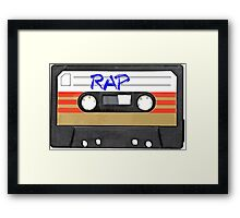 Rap Music - Rapper HIP HOP - MC DJ Framed Print