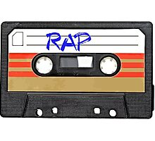 Rap Music - Cassette Tape - MC Photographic Print