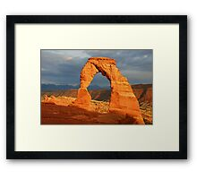 Delicate Arch - The Calm After the Storm Framed Print