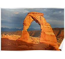 Delicate Arch - The Calm After the Storm Poster