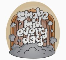 Smoke Mid Every Day Baby Tee