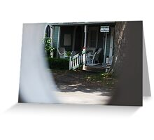 Lakeside Green Gables Cottage Greeting Card