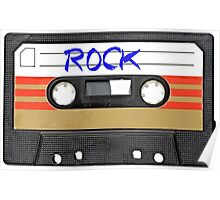 Rock and Roll Music - Cassette Tape - Awesome iphone case Poster