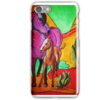 Mare and Foal iPhone Case/Skin