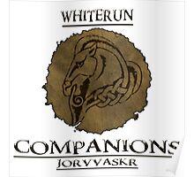 Skyrim - Whiterun Companions Poster