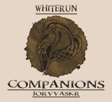Skyrim - Whiterun Companions by Dorchette