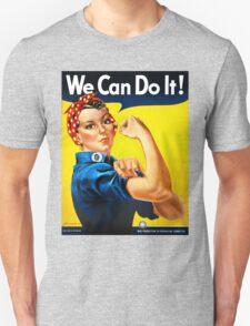 Rosie the Riveter - US World War II Propaganda Poster T-Shirt