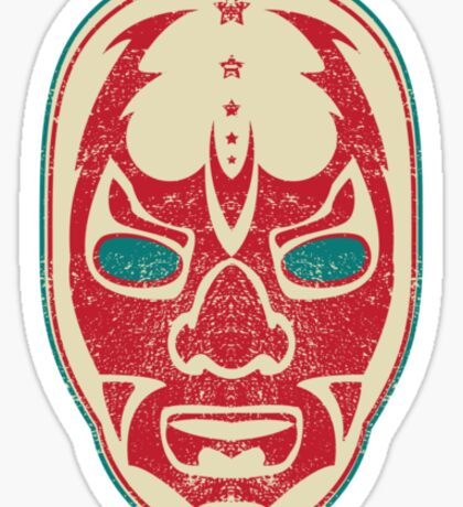 The Mysterious Mask Sticker