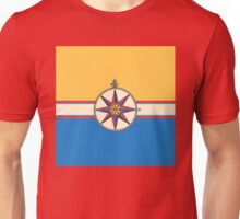 Antique Compass Rose Unisex T-Shirt