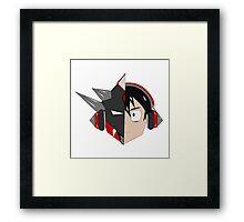 Spike Rider Framed Print
