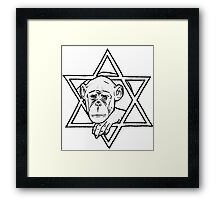 The monkey of wisdom Framed Print