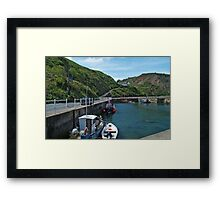 Burnmouth Harbour 3 Framed Print