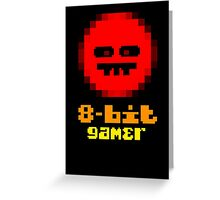 8-Bit Gamer Greeting Card
