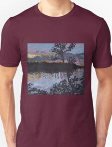 Julia's shore in Maine Unisex T-Shirt