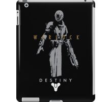 Destiny Warlock Action figure iPad Case/Skin