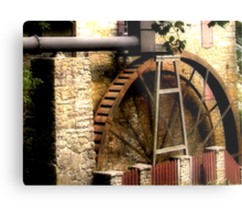 Rock Run Mill Water Wheel Metal Print