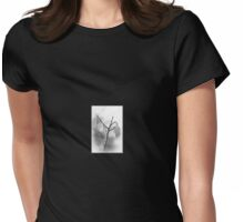 Catkins in Mono Womens Fitted T-Shirt