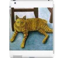 Yellow Cat iPad Case/Skin