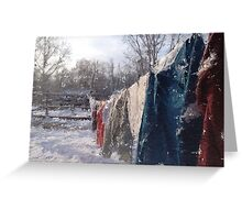 Winter's End II Greeting Card