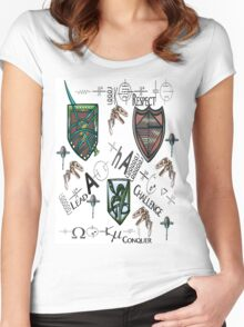 Challenge Shield Women's Fitted Scoop T-Shirt