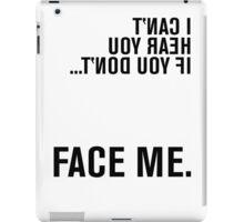 FACE ME - American Sign Language iPad Case/Skin