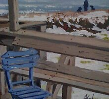 Blue Chair by Charles Kohnen