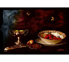 1900 - Strawberry Time Photographic Print